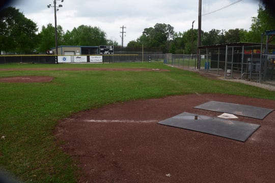 An empty field waits as the decision to temporarily suspect the Lafayette Little League season begins. The decision was based on recommendations fromLittle League International, the organization that oversees the sport.