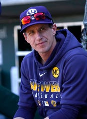 Brewers manager Craig Counsell thinks there will be baseball again this year, but right now he's managing the new normal of daily life just like other concerned citizens.