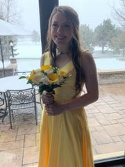 Cassidy Wolverton, an Arrowhead High School student, attended prom in 2019. Arrowhead's prom has been canceled in 2020 due to the coronavirus.