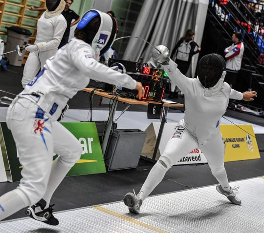 Isis Washington of Parsippany is trying to make the United States epee squad for the Olympics in Tokyo.