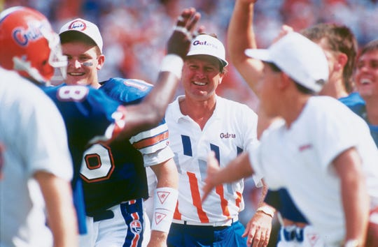 Steve Spurrier took advantage of his first spring practice in 1990 to set in motion the start of his dynasty in Gainesville.
