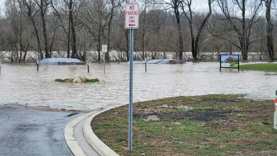 Flooding in Granville Friday, March 20 closed many roads and triggered evacuations from apartments and businesses in some areas.