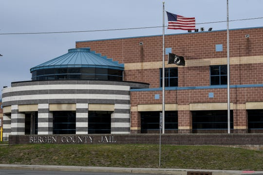 An exterior photo of Bergen County Jail in Hackensack on Saturday March 14, 2020.