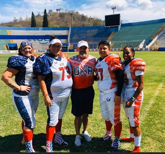 Members of the American Football Events Team USA women's football team are currently stranded in Honduras due to coronavirus concerns.