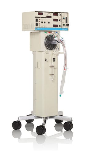 A Vyaire ventilator used to help patients with respiratory difficulties.