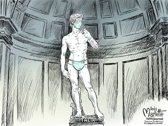 Italy cracks up over the crisis