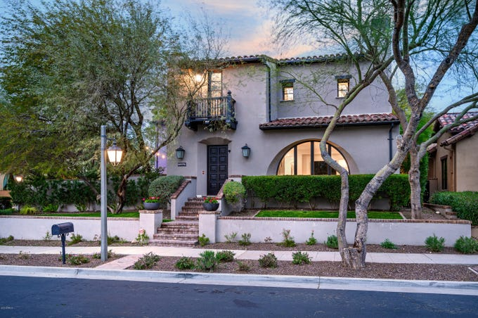 Paul and Amy Goldschmidt sold their Scottsdale DC Ranch mansion for $2.54M.