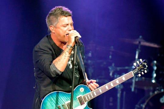 El cantante español Alejandro Sanz se presenta en concierto en Nueva York (EE.UU.).