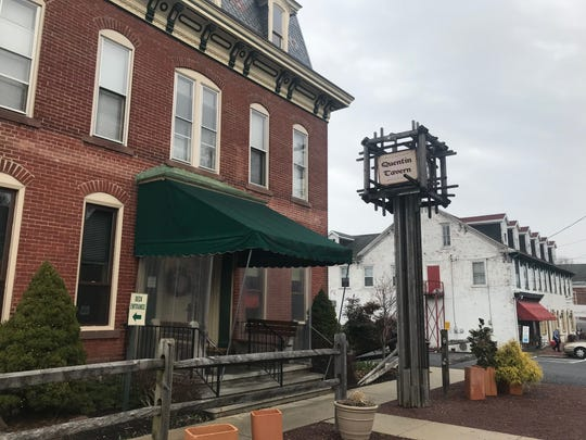 Quentin Tavern in Lebanon County. Owner Steve Lynn said telling his employees they had to apply for unemployment was difficult.
