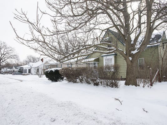 A family home that was on the tax foreclosure list on Vanness Street in February 2018. On March 18, 2020, Gov. Gretchen Whitmer ordered an extension of the tax foreclosure deadline from March 31, 2020, to May 29, 2020, because of the coronavirus outbreak.