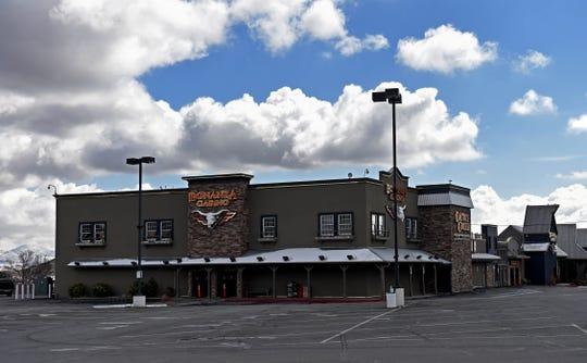 The Bonanza Casino in Reno on March 19, 2020.