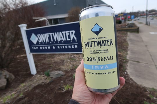 Swiftwater Brewing is offering crowlers to-go.