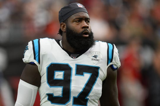 Carolina Panthers linebacker Mario Addison has had nine or more sacks each of the last four seasons.