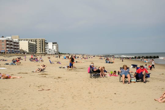 Rehoboth Beach on Friday, March 20, 2020. The city's beach and boardwalk will reopen to the public Friday, May 15.