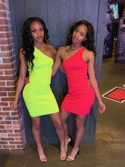 BTW fraternal twins Portia and Alexus Harris are hard to distinguish.