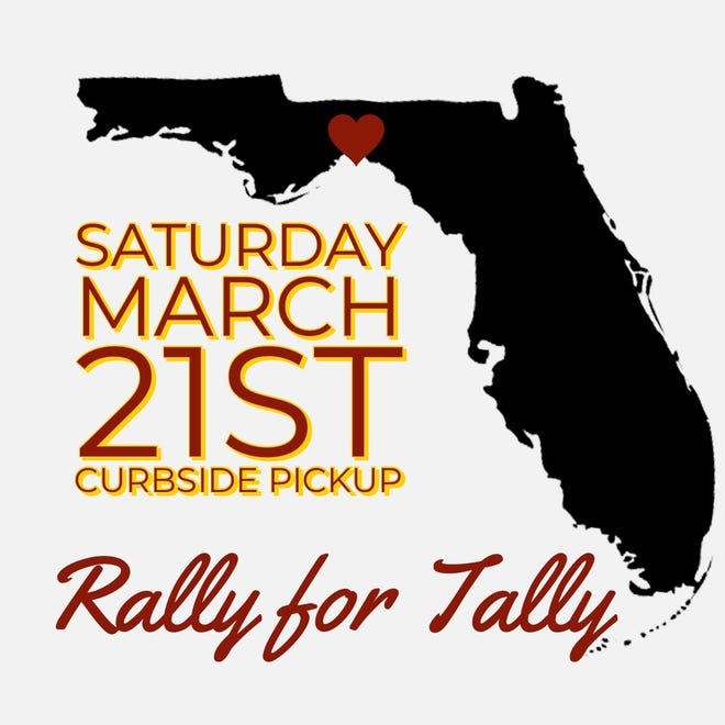 On Saturday, Rally for Tally encourages customers to order pickup from local restaurants.