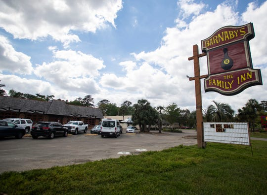Barnaby's Family Inn, located on Apalachee Parkway, bustles with business after a viral Facebook post brought in locals to support the small business. The Facebook post was of a sign telling customers that if the restaurant had to close for COVID-19 that it might have to close permanently.