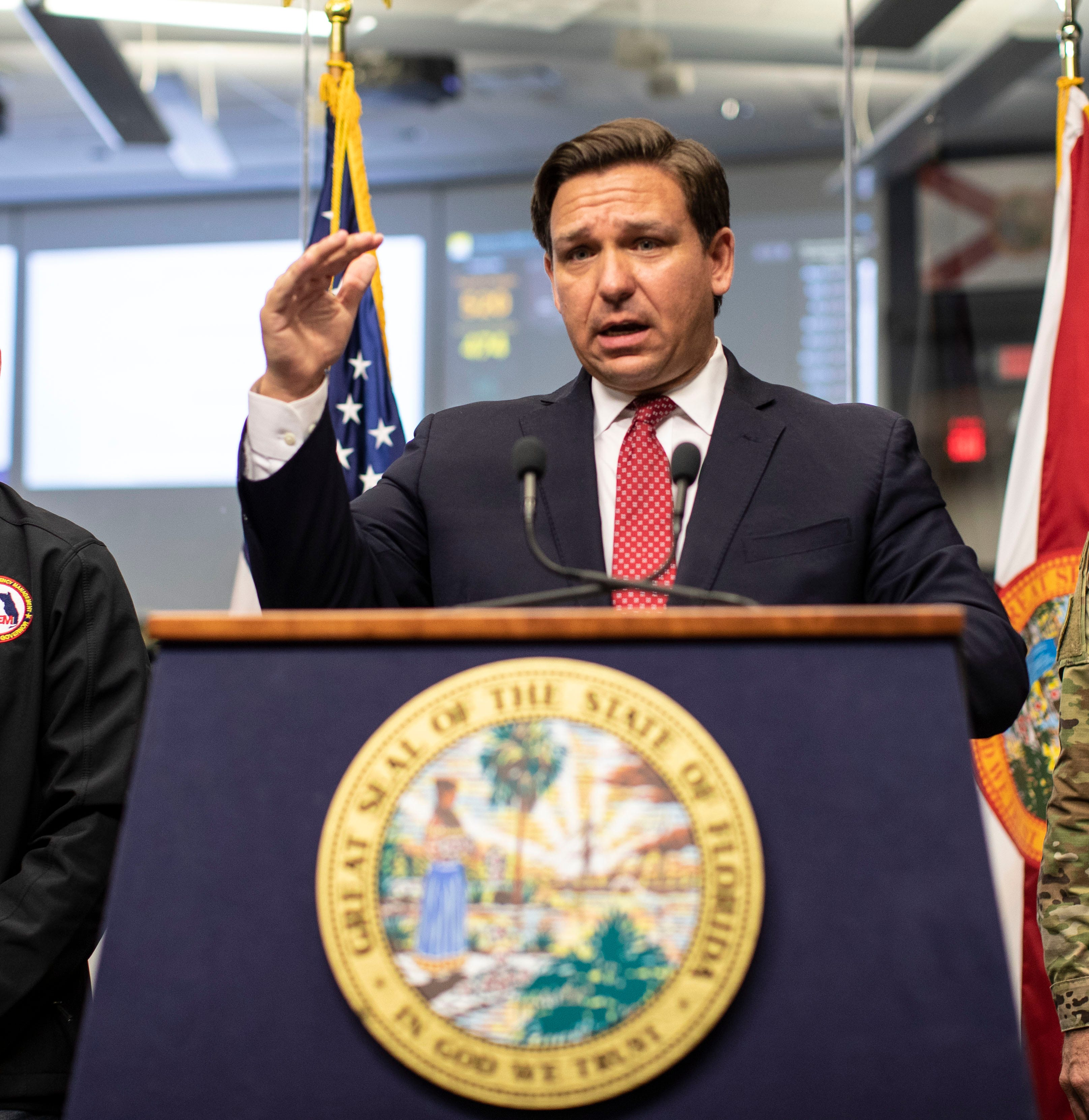 Florida coronavirus cases pass 4000: state border checkpoints begin, vacation rentals halted
