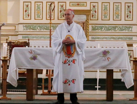 Bishop Mark J. Seitz of the Catholic Diocese of El Paso