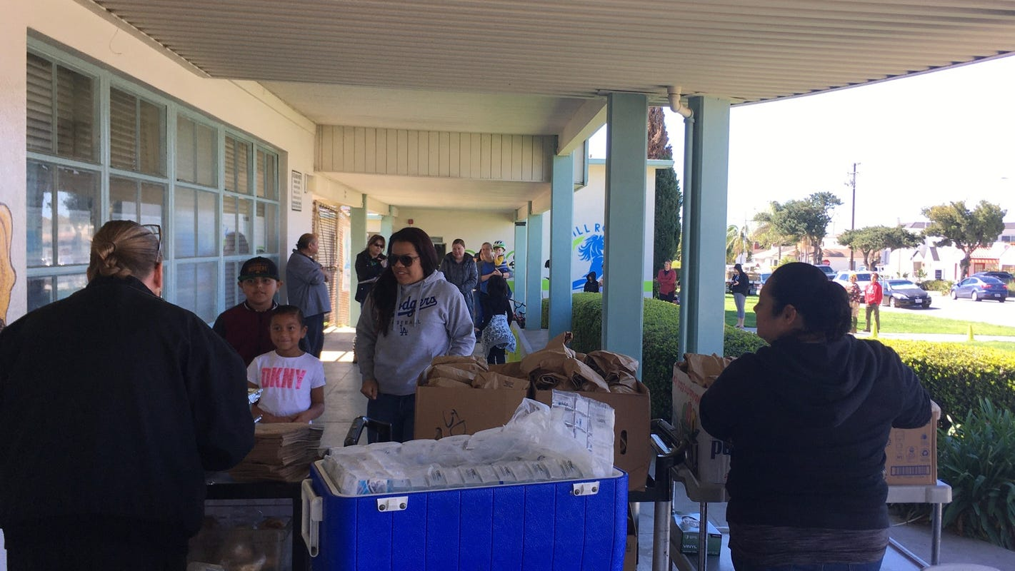 Ventura Unified suspends Friday lunch; other districts continue to-go meals