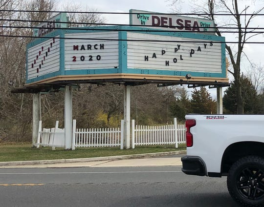 Plans for the Delsea Drive-In Theatre to launch a new season on March 20, 2020 were postponed to comply with COVID-19 restrictions on public gatherings.
