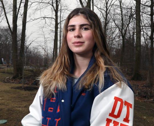 Co-indoor girls track Westchester/Putnam athlete of the year Kira Lindner of Horace Greeley March 20, 2020.