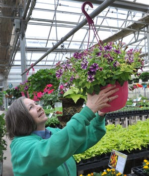 Katherine Smith, of Smith's Gardentown, said their business has seen a slowdown in customers due to the Covid-19 emergency and have added product photos to the company website and is now offering curbside pickup and delivery for some orders.