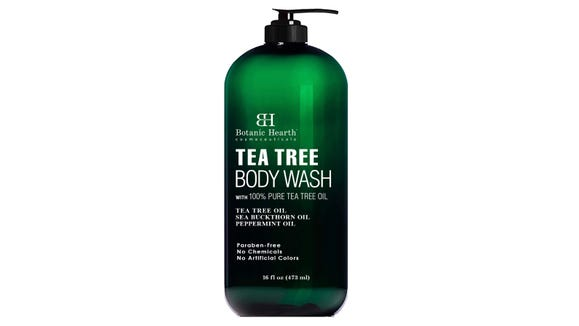 This wash is gentle and soothing on sensitive skin.
