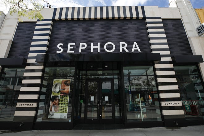 Sephora: Stores closed on March 17 and are expected to remain closed until April 3.