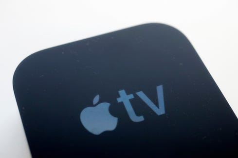 An Apple TV streaming device is a must for those who'd rather watch a digital movie on a television than a phone.