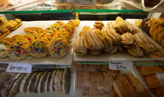 Zanos Brothers Italian Market carries all sorts of Italian specialty items including deserts.