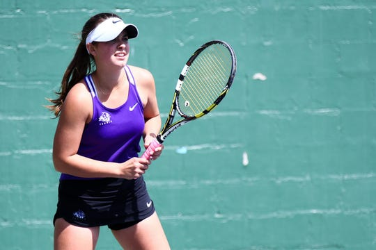 ACU tennis player Allison Stewart, a sophomore from Midland, couldn't believe it when she found out the Wildcats season had come to a sudden end on March 14.