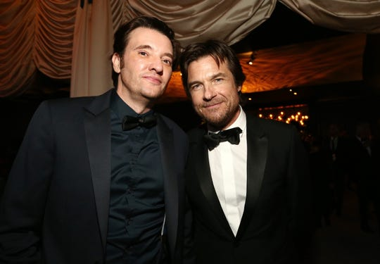 Jason Butler Harner and Jason Bateman attend the Netflix 2020 Golden Globes After Party on January 05, 2020 in Los Angeles.