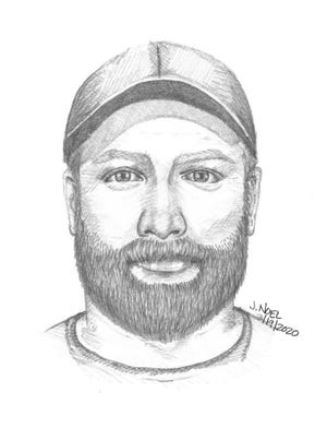 Police are looking for an unknown male they say attacked a woman in Mount Airy Forest.