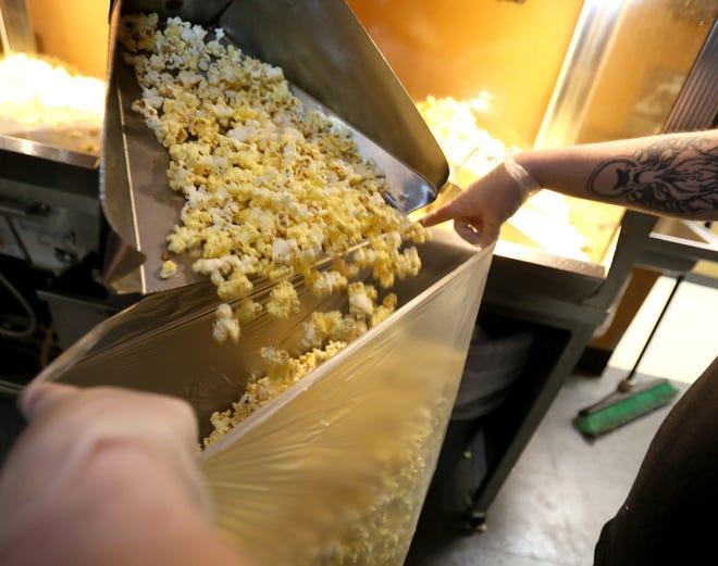 Emagine Theatre popcorn