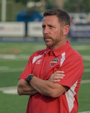 Andy Wagstaff takes over as Flint City Bucks coach this season after serving as associate coach during last year's USL League 2 championship run.