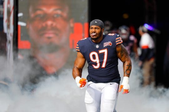 Chicago Bears defensive tackle Nick Williams (97)
