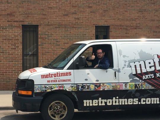 Metro Times' Editor in Chief Lee DeVito