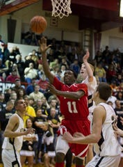 Jalen Pendleton in the 2011 sectional.