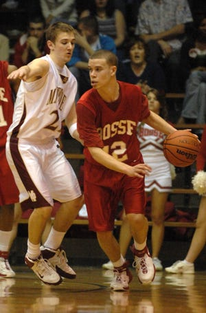 Matt Lander during his playing days at Bosse.