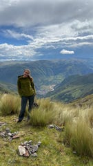 Jessica O'Neill has been stranded in Peru by the coronavirus.