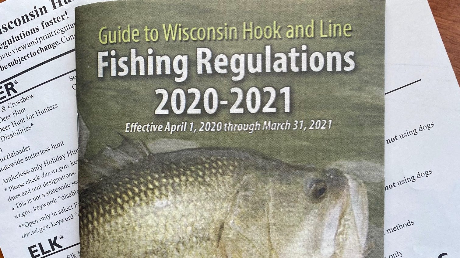 Many New Wisconsin Fishing Regulations Take Effect April 1