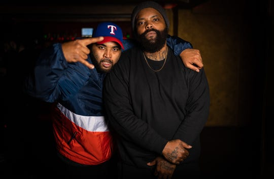 Gadsden hip-hop artist brothers Bray, left, and Big Henri are trapped in Paris France in the middle of coronavirus restrictions. They are trying to get a flight home to Alabama.