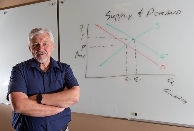 New Mexico State University economics professor Christopher Erickson believes the United States will experience an economic recession as a result of the COVID-19 pandemic. But he predicts a speedy recovery period.