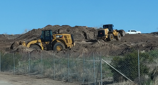 The waste removal and relocation project is expected to take 90 to 100 working days; trucks will be hauling out waste from 7 a.m. to 3 p.m. Monday through Friday and redisposing of it a Corralitos Regional Landfill, off I-10, west of the city.
