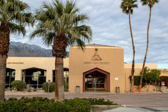 Desert AIDS Project is photographed in Palm Springs, Calif., on Saturday morning, March 21, 2020.