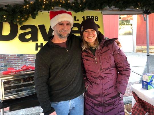 Jennifer Davies-Sadowski and Mike Leroy of Davies Hardware