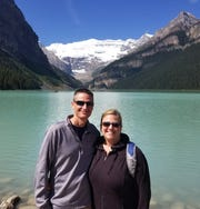 Dylan Merriman (left) and Pamela Bokelman (right) have enjoyed time together in many parts throughout the country. Some of those places include: Canada, Arizona, New Mexico, Mexico, Cabo and Bahamas.
