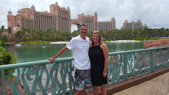 Along with traveling, Dylan Merriman (left) and Pamela Bokelman (right) enjoy creating friendships on vacations and in the Sauk Rapids community. They received a lot of support from friends and family once they announced their destination wedding to Cabo was cancelled.