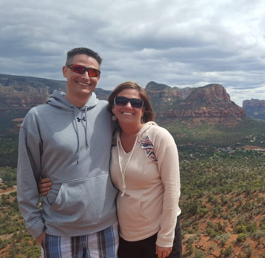 Dylan Merriman (left) and Pamela Bokelman (right) enjoy traveling in their free time and have been to many places both in and out of the country.